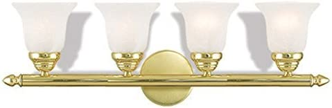 Livex Lighting 1064-02 Neptune 4 Polished Brass Bath Light
