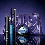 58dd40ed9cd Image Unavailable. Image not available for. Colour: NEW Color Trend Make Up  Gift Set from Avon - Hot Purple Bag, Black plump