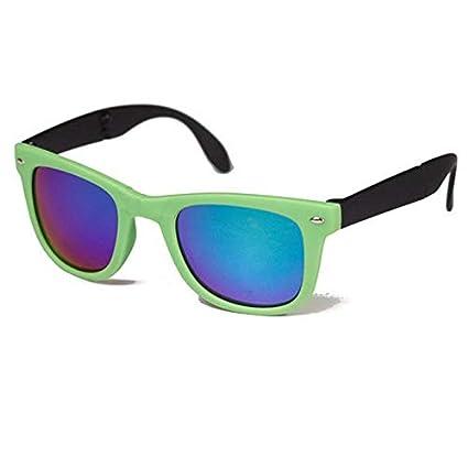 51d4e4ba448 Buy Shoppy Shop 1pc Vintage Folding Sunglasses Women Massage Health Care  Steampunk Oversize Luxury Large Mirror Lens Braces Brand Designer - green  Online at ...