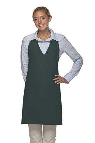 Averill's Sharper Uniforms V-Neck Tuxedo Apron No pocket (Set of 6) (V-neck Tuxedo Apron)