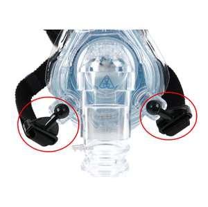 Comfort Series Respironics (Respironics Ball and Socket Swivel Clips for Comfort Series Headgear)
