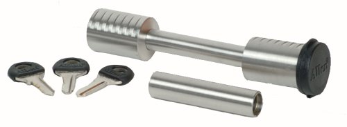Allen Sports Universal Stainless Steel Locking Hitch Pin for 2-Inch or 1 1/4-Inch Receiver Hitches