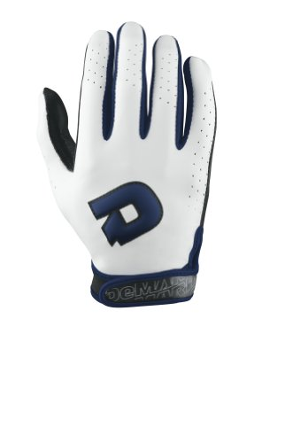 DeMarini Women's Superlight Batting Glove, Navy, Large