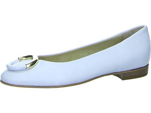 Schnalle Damen Weiß 5695 Gabriele Weiß Stefy 262306 Ballerinas dtpnH0qS