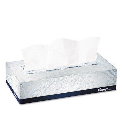 Professional Kleenex Facial 2-Ply Tissue - 125 Tissues per Box [Set of 3]