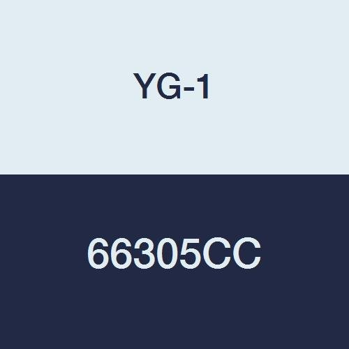 37 Degree Helix Regular Length Roughing for Aluminum TiCN Finish 2-1//2 Length 3 Flute YG-1 66305CC 3//8 HSSCo8 End Mill