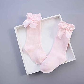 3f61ca00656a5 Corcrest - Baby Girls Socks Knee High with Bows Princess Socks Girl Cute  Baby Socks Long