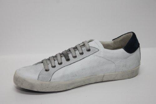 Sneaker E Bianco Stella Vitello Fumo Camoscio ZxrZ7wq