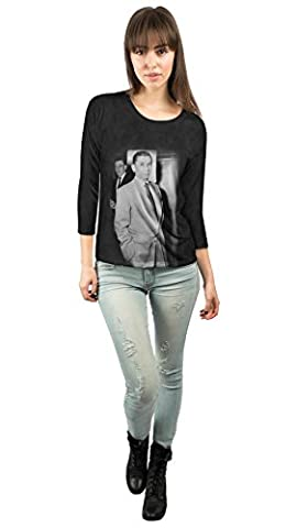 Yizzam- Original Gangster Meyer Lansky -New Ladies Womens 3/4 Sleeve-4X (Oscar Meyer Tshirts)