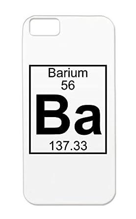 Nerd Chemist Ba Element Careers Professions Geek Barium Periodic