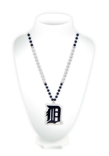 MLB Detroit Tigers Beads with Medallion