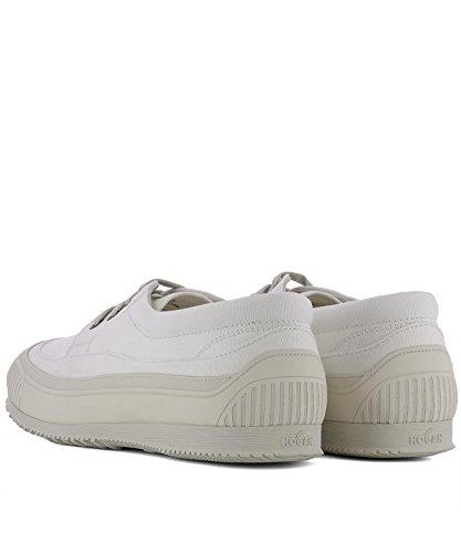 Hogan Men Hxm2580af90p10b003 Sneakers In Tessuto Bianco