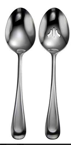 (Oneida Satin Sand Dune 2 Serving Spoons)