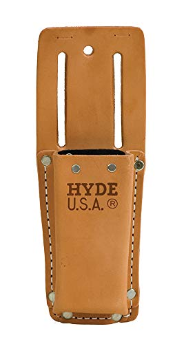 Hyde 42525 Heavy Duty Leather Angle Head Utility Knife Pouch for 42080