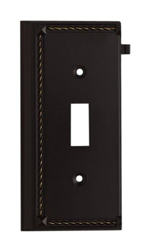 Elk 2507AGB Aged Bronze End Switch Plate