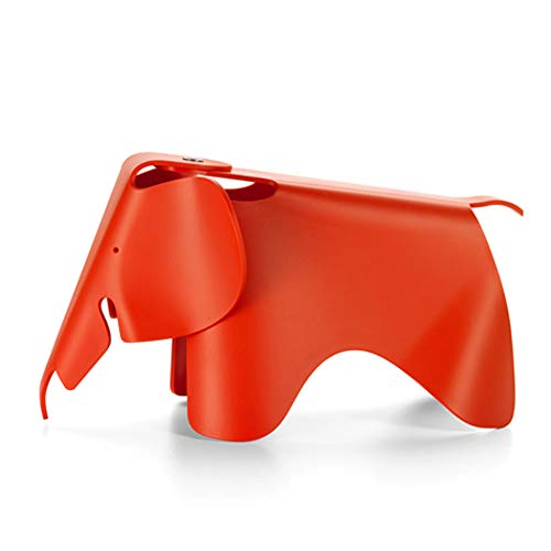 (Eames® Elephant by Vitra, Color = Poppy)