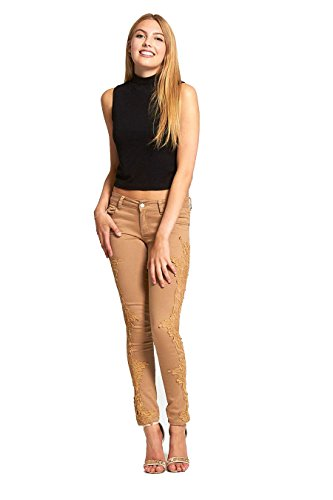 Jeans camel Donna 1 Divadames L6080 H8ZO6OW