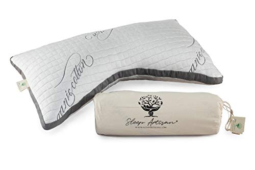 Sleep Artisan Luxury Side Sleeper Pillow - Natural Latex Pillow for Sleeping - Adjustable Loft Bed Pillow with an Ergonomic Design That is Perfect for Neck Pain - Made in USA (Best Quality Pillows For Side Sleepers)