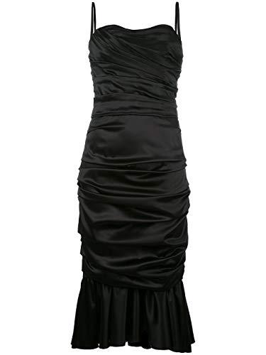Dolce e Gabbana Women's F63m4tfuragn0000 Black Silk Dress