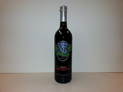 VSOP Traditional 18yr Aged Dark Balsamic Vinegar of Modena (750 ml / 25.36 oz)