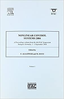 Nonlinear Control Systems 2004 (3-volume set) (IPV - IFAC Proceedings Volume)