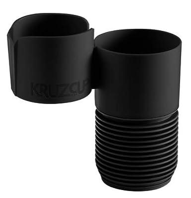 KruzCup Two-Cup Console Organizer Black