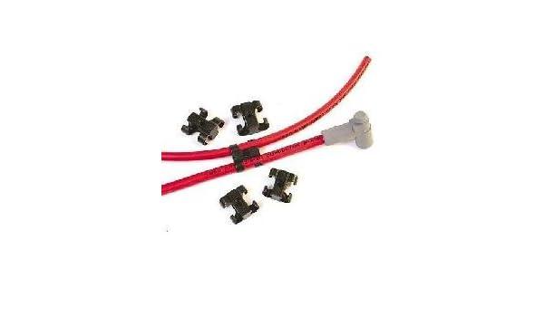 MSD - 8842 - Juego de separador de cables de bujía - para doble cable - incluye un paquete de 16 unidades: Amazon.es: Coche y moto