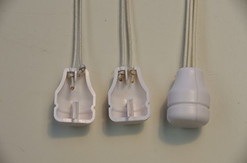 HomeAmore 8 Pack Safety White Blind Knobs. This Tassel Separates The Pull Cords When Excessive Pressure is Detected to Avoid Potential Child Or Pet Strangulation. A Smart Choice for Parents. by HomeAmore (Image #8)