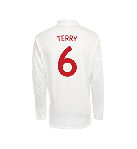 Umbro TERRY #6 England Home Jersey Long Sleeve (2XL) ()