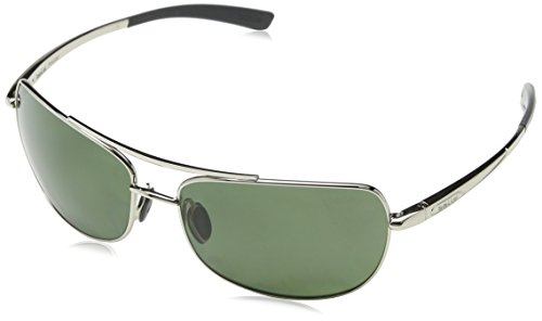 - Bolle Quindaro Sunglasses (Polarized Axis, Shiny Silver)