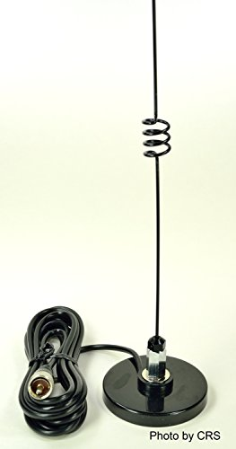 Workman Magnetic Mobile Antenna Ham Radio 2 Meter/70 cm 140 to 150 and 440 to 470 MHz KRDB by Workman (Image #1)