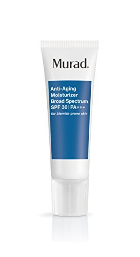 - Murad Anti-Aging Acne Moisturizer with Broad Spectrum SPF 30 PA+++ - (1.7 oz), Ultra-Light Fast Absorbing Daily Moisturizer for Acne Prone Skin, Fights the Signs of Aging with Kombucha Defense