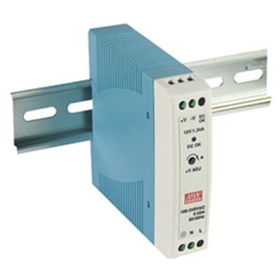 DIN Rail Power Supplies 20W 12V 1.67A