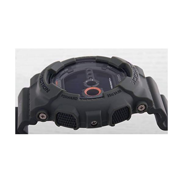 Casio G-SHOCK Reloj Digital, 20 BAR, Verde, para Hombre, GD-100MS-3ER 5
