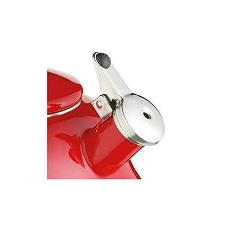 Kitchen Craft LeXpress - Hervidor de agua con silbato (2 litros, acero inoxidable): Amazon.es