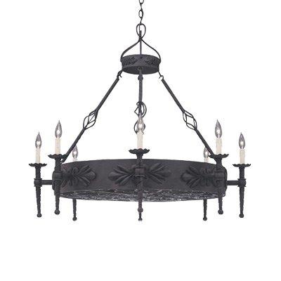 (Designers Fountain 9185-NI Alhambra 8 Light Island)