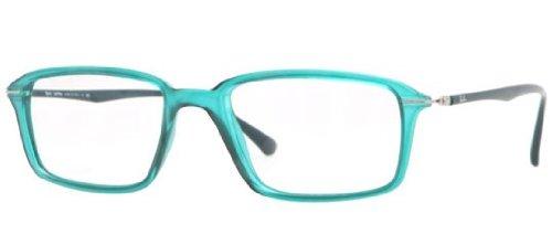 ray-ban-rx7019-light-ray-eyeglasses-5243-demi-shiny-green-53mm
