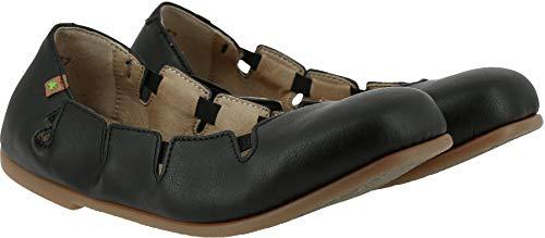 El N961t scarpe Estive Clásicas Vegan Croche Naturalista Black Mujer Bailarinas ZZrqRHxa