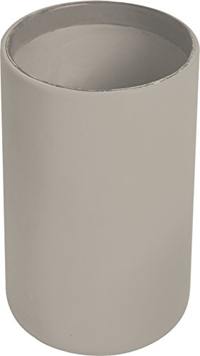 EVIDECO Vanity Bathroom Tumbler Soft Touch Design Taupe, from EVIDECO