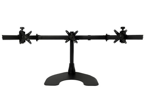 Ergotech Triple Desk Stand with Ice Cube (100-D16-B03-Ice)