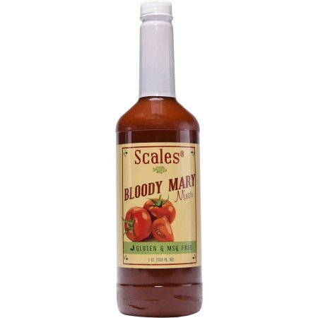 Scales Bloody Mary Mix ''Full Flavored'' Lower in Sodium, Gluten free and No MSG