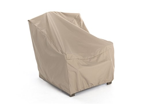 CoverMates – Outdoor Chair Cover – 30W x 38D x 36H – Ultima Collection – 7 YR Warranty – Year Around Protection- Tan by CoverMates