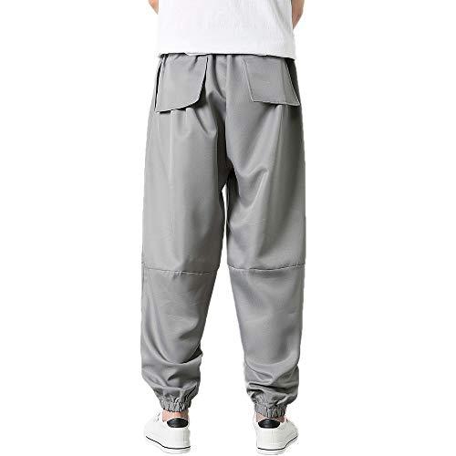 Ample Sportif Gris Hommes Mode Pantalon De Jogger Décontracté Kaister Jogging xwaZPqTYY