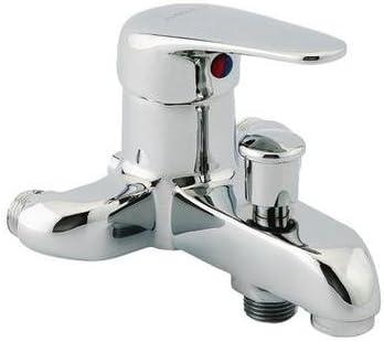 Grifo monomando para baño y ducha, distancia entre ejes de vía ...
