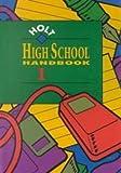 Holt High School Handbook Holt School, Warriner, 0030946387