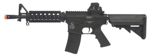 Colt M4 CQB Full Metal AEG Rifle, Black
