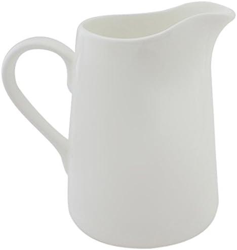/Tortue Blanc Jersey Pottery Neptune Petite Carafe/