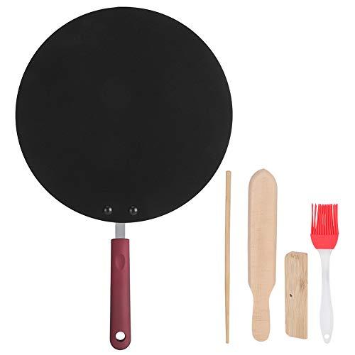 Queen.Y Crêpe Maker Draagbare Non-Stick Koekenpan Pannenkoek Bakplaat Pan Pannenkoek Maker Crêpe Machine Koekenpan Pizza…