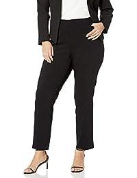Women's Plus-Size Super Stretch Millennium Welt Pocket Pull-on Career Pant