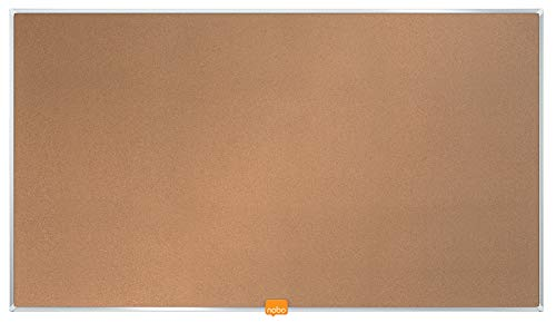 Nobo 1905306 32-Inch Nobo Widescreen Cork Noticeboard
